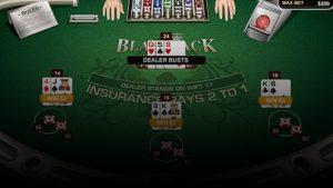 Blackjack'te Sigorta Bahisi Nasıl Yapılır?